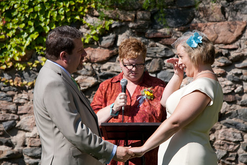 crying during our vows