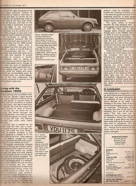 Chrysler Simca 1307 S (1977)
