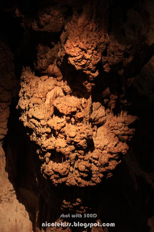 bubbly stalactite