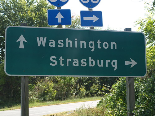 Washington and Strasburg going different ways