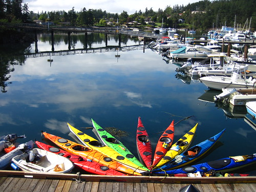Friday Harbor kayaks