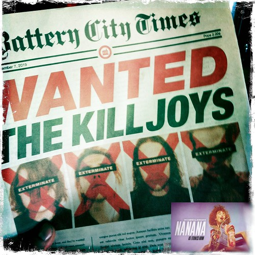 Wanted: Killjoys