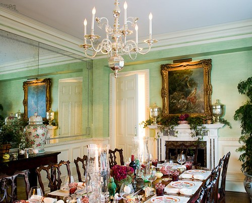 Sara Gilbane dining room