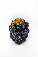 BlackBerry (PhotoGrapherQ80 «KWS») Tags: food plant closeup blackberry bb yumy adel abdeen