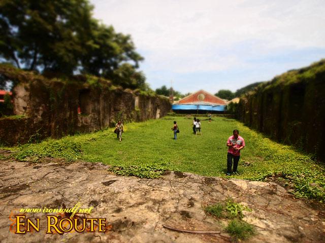 Pindangan Ruins ground