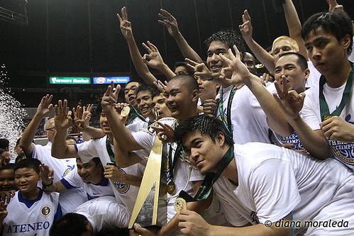 UAAP Season 73: Finals, Game 2, Ateneo Blue Eagles vs. FEU Tamaraws, Sep 30, 2010