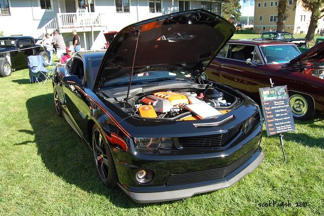 black chevrolet camaro chevy 2010 supersport kitsapcounty ls3 portgamblewa nikond40 portgambleoldmilldays
