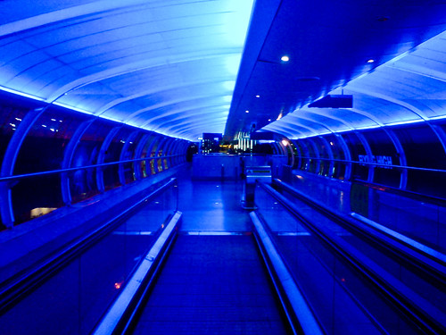 Travelator to Terminal 3