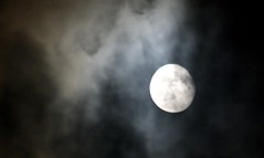 The Moon, September 25th 2010 (hobbitbrain) Tags: sky moon night