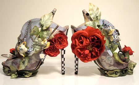 туфли от дизайнера Nicholas Kirkwood