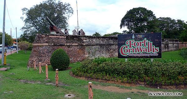 First stop - Fort Cornwallis