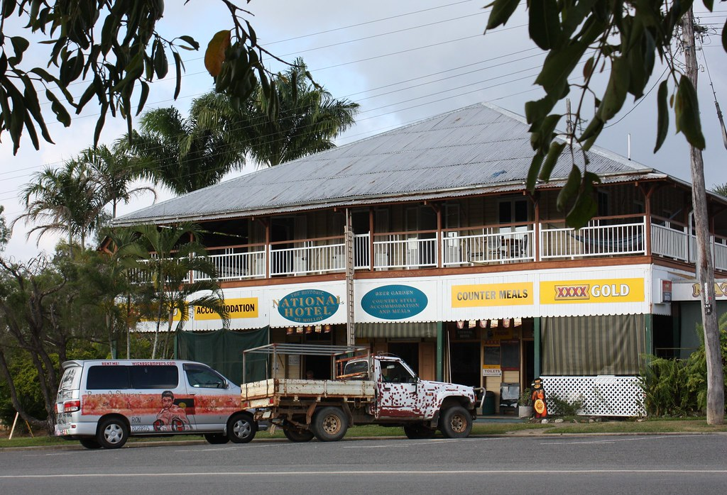 National Hotel, Mt Molloy, Qld.