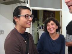 Osamu Kobayashi and Lauren Luloff