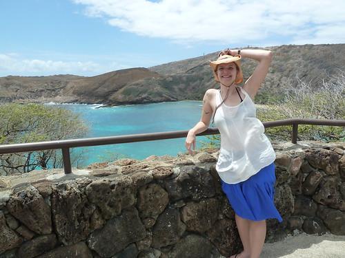 Erica at Hanauma Bay