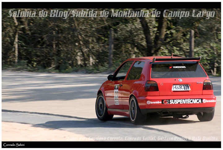 Volkswagen Golf VR6_Alberto Trivelato_Subida Montanha Campo Largo #2010