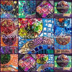 A Collection of Very Small Mosaics (sucra88) Tags: glass fdsflickrtoys mosaic mixedmedia polymerclay glassmosaic temperedglass susancrocenzi wwwscmosaicscom