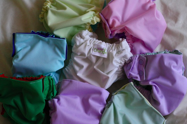 sprout change cloth diapers