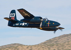 Low Flying Kitty (TXphotoblog) Tags: airplane war action aircraft aviation military nevada photojournalism event reno usnavy civilian grumman herekittykitty renoairraces f7ftigercat stewartdawson number55 unlimitedracer 47thannualrenonationalchampionshipairraces2010