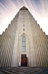 Hallgrmskirkja (chris lazzery) Tags: church iceland 5d lutheran reykjavk hallgrmskirkja canonef1740mmf4l bw30nd