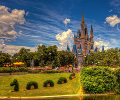 Magic Kingdom - That Good Old Feeling (Cory Disbrow) Tags: travel photoshop canon lab disney wdw waltdisneyworld canonef2470mmf28lusm hdr highdynamicrange magickingdom 2010 cs4 cinderellacastle canoneos5dmarkii june2010 vacationkingdomoftheworld corydisbrow wdwphotography wdwphotographycom