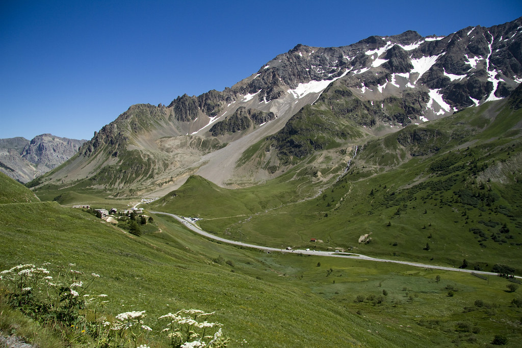 Col du Lautaret from Galibier