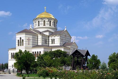 Севастополь: Владимирский собор в Херсонесе