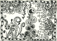 zentangle_20100925-6 (craftydr) Tags: atc micronpens zentangle zendoodle