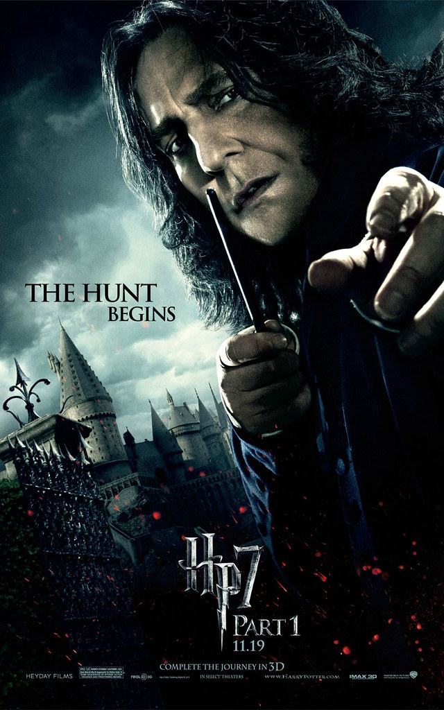Harry Potter and the Deathly Hallows Part 1 Severus Snape