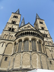 Church in Bonn,Germany (pcbedolla) Tags: church architecture germany cathedral basilica religion kirche deutchland rhinevalley bonngermany germanchurches