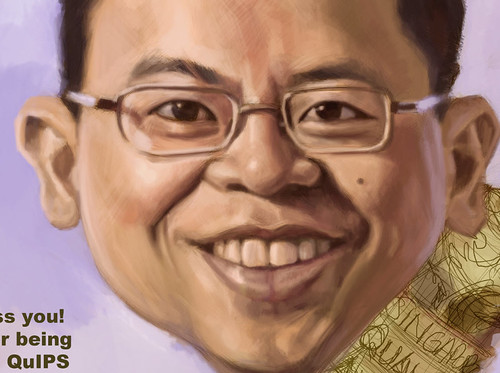 digital caricature for Ministry of Manpower - 3 small