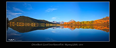 Oxbow Bend Morning Panorama - Grand Teton National Park 9-27-2010 (Michael Vanky) Tags: park usa bend grand wyoming teton grandteton jacksonhole oxbow dcptsept2010