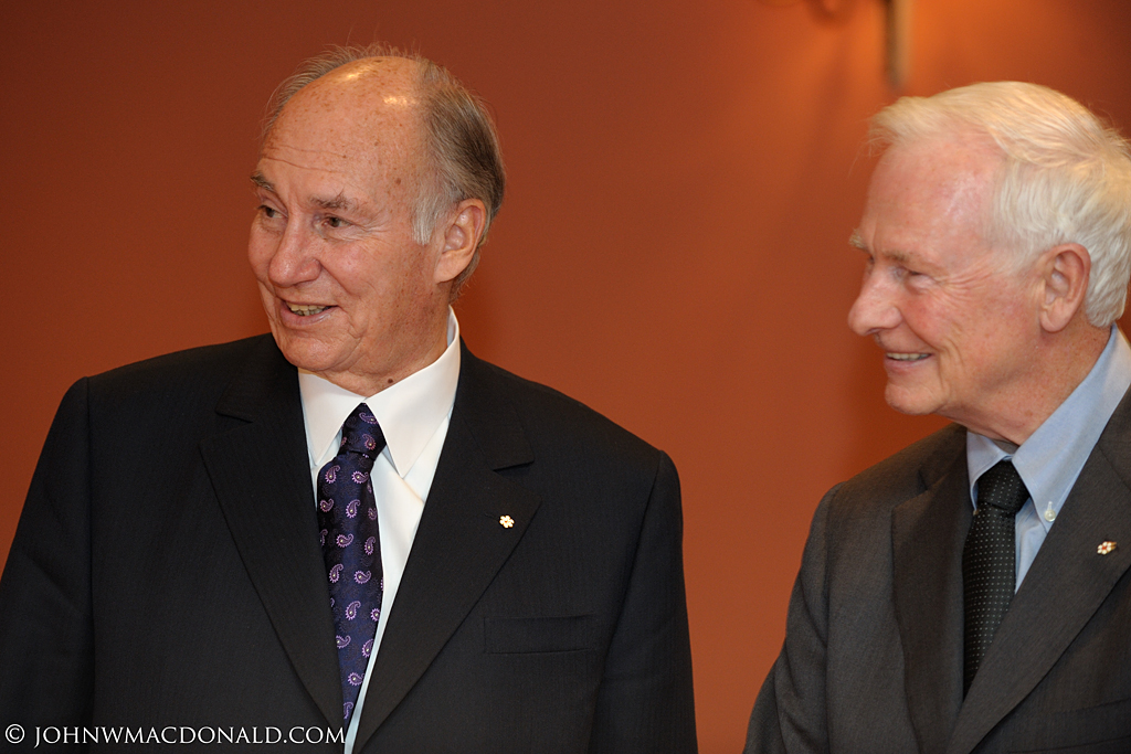 Governor General Welcomes His Highness the Aga Khan at Rideau Hall 6207