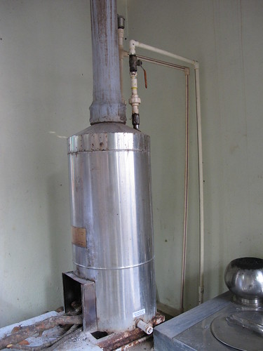 wood fired water heater