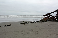 Peter Iredale, all that remains (marydenise6) Tags: ocean park sea beach oregon coast sand rust day ship cloudy peter shipwreck wreck iredale fortstevensstatepark