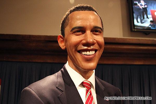 Current US President, Barack Hussein Obama II