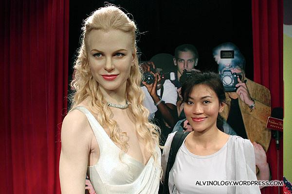 The ultra-fair Nicole Kidman