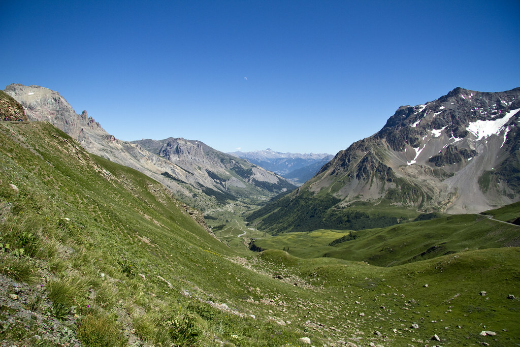 Vallée de la Guisane from Galibier