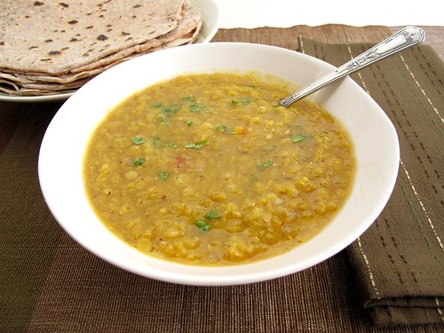 Gastronomer's Guide: Red Lentil Dal with Nigella Seed Chapatis