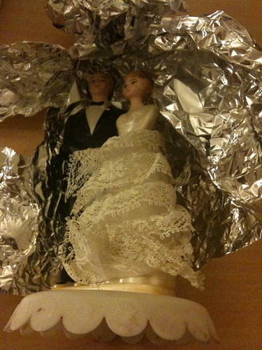 Cake Topper, in progress