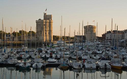 La Rochelle - Les tours de Saint-Nicolas et de la Chaine