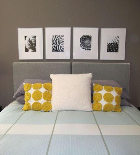 Set of 4 Graphic Modern Nature Prints