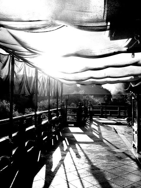 今日の写真 No.41 – 信貴山の夕陽/iPhone4 + Spica