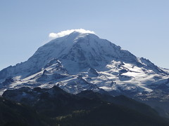 Rainier from Tolmie lookout.