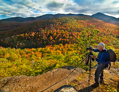 Adirondack Color from Owls Head Lookout (Jaime Martorano) Tags: travel vacation mountain ny newyork fall nature colors canon photography photographer hiking adirondacks trail backpacking photowalk lakeplacid elizabethtown owlshead keenevalley keeneny