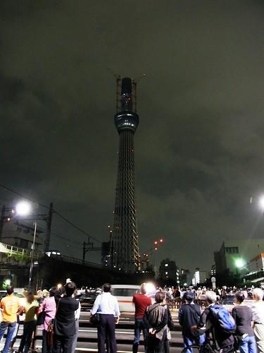 Tokyo sky tree lighting test #3