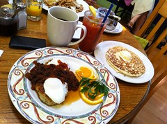 Yum! (pkingDesign) Tags: food coffee pancakes breakfast mary eggs bloody