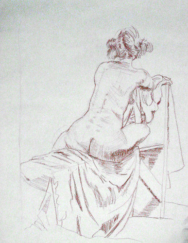nude sketching, figure drawing, life drawing