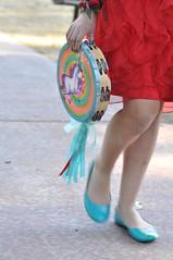 Unicorn tambourine!