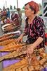 Fishmonger (**El-Len**) Tags: portrait woman fish ethnic uzbekistan centralasia uzbek thegalleryoffinephotography
