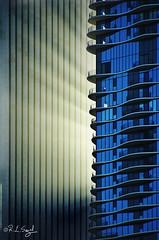 A Rush of Light (rjseg1) Tags: sunset chicago tower architecture skyscraper aqua aon segal standardoil jeannegang rjseg1
